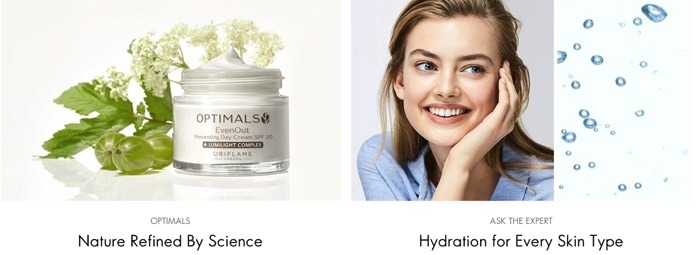 oriflame products catalogue