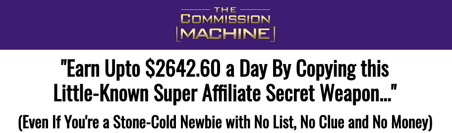 what is the commission machine a scam