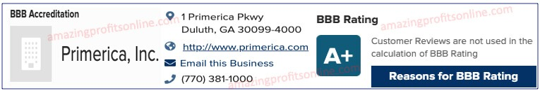 Primerica Business Opportunity