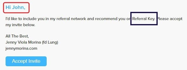 what is referralkey