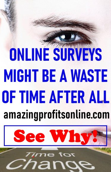 are online surveys a waste of time