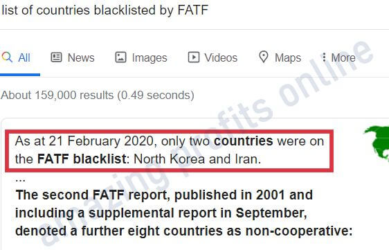 fatf Blacklisted countries